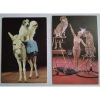 Календарики. Цирк. 1985, 1989