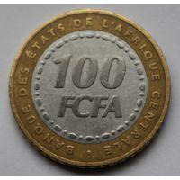 ЦЕНТРАЛЬНАЯ АФРИКА, 100 франков 2006  г.