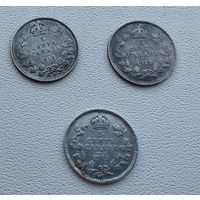 Канада 5 центов, 1913  7-6-49*51
