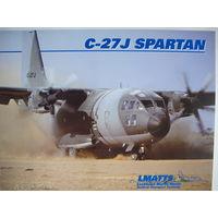 Современного тактического военно-транспортного самолета C-27J Spartan