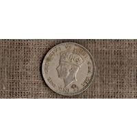 Кипр 2 шиллинга 1947 /ГЕОРГ/(ОI)