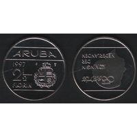 Аруба _km6 2 1/2 флорина 1997 год (ba) (b06)