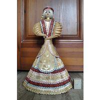 Большая кукла из соломки (высота 46 см.)
