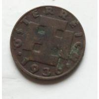 Австрия 2 гроша, 1936 1-1-39