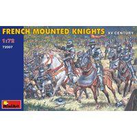 Французские конные рыцари XV в. Mini Art 1/72