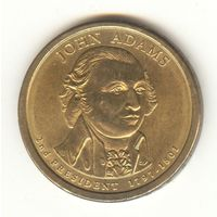 США 1 доллар 2-й Президент Джон Адамс John Adams