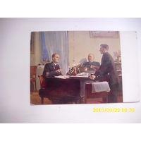 Открытка 1951 год Песня о Донбассе