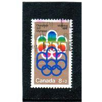 Канада. Ми-556.Символ Монреальских игр Серия: Олимпийские игры, Монреаль 1976 (3-й выпуск)