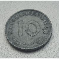 """Германия - 10 рейхспфеннигов, 1940 """"A"""" - Берлин  5-7-4"""
