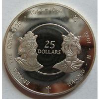 Каймановы  25 долларов 1980 г