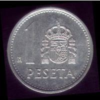 1 Песета 1988 год Испания