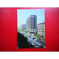 Открытка 1974г. Ереван. Гостиница  Ани.