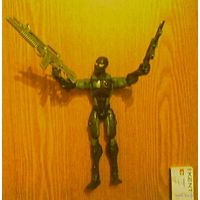 Подвижная фигурка солдатик Змеиные Глаза. Джо-солдат: Сигма 6 (Action Figure Snake Eyes G.I.Joe: SIGMA 6), Hasbro. Высота - 22см.
