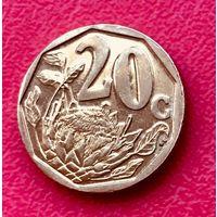 07-27 ЮАР, 20 центов 2012 г.