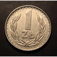 Польша, 1 злотый 1949,1966,1970,1972,1973,1974,1975,1976,1977,1978,1982-1990 год.
