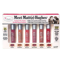 TheBalm Meet Matte Hughes Mini Kit V2 набор матовых помад