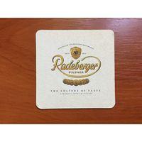 Подставка под пиво Radeberger No 5