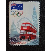 Австралия 2012г. Автобус.