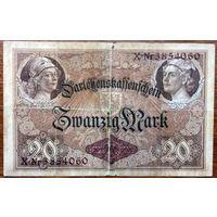 Германия, 20 марок 1914 год, Р48