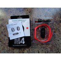 Фитнес-браслет Smart M4 (красный)