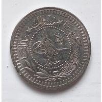 """Османская империя 40 пар, 1327 (1909) """"Reshat"""" справа """"Е"""" (4) 5-2-20"""