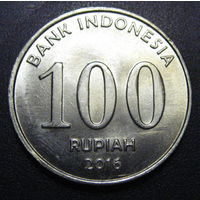 Индонезия, 100 рупий 2016 год