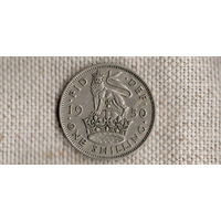 Великобритания 1 шиллинг 1950(Zo)