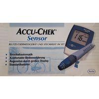 Глюкометр Accu-Chek Sensor для измерения сахара в крови + тест-полоски Германия