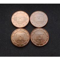 5 евроцентов 2013 Мальта