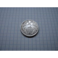 Германия 2 марки 1926 J, серебро