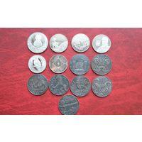 Беларусь 1 рубль 2015 год 13 монет. Полный годовой набор.