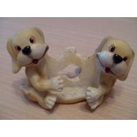 Подставка-Весёлые собачки