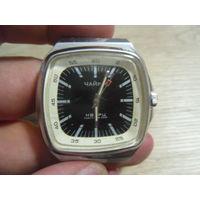 """Часы """"Чайка"""" кварц сделано в СССР, мех 3056"""