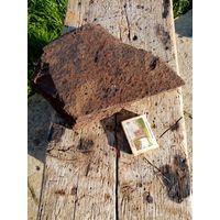 Кусок антуражной лобовой брони тридцатьчетверки