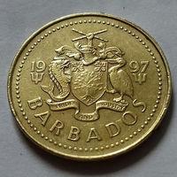 5 центов, Барбадос 1997 г.