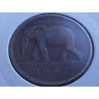 Бельгийское Конго 2 франка 1947