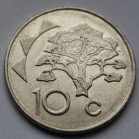 Намибия, 10 центов 1998 г.