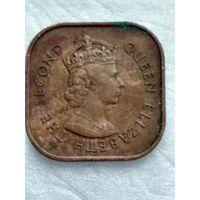 Малайя и Британское Борнео 1 цент 1957