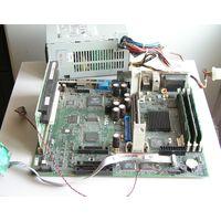 Плата материнская DELL PWB 8803C Slot 1 + память 3 планки по 128 Мб + блок питания DELL