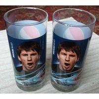 2 стакана Pepsi с Messi