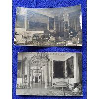 Две фотографии Детское село 1934 г. оригинал  лот 27