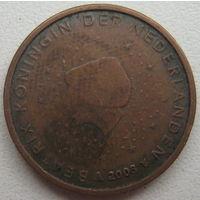 Нидерланды 2 евроцента 2003 г.