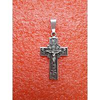 Крестик православный под широкую цепочку.
