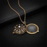 Ожерелье кулон - лупа на цепочке, увеличение X 5. распродажа