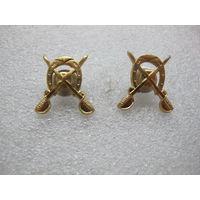 Петличные эмблемы кавалерии СССР