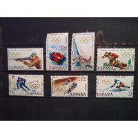 Испания 1968 г.Зимние Олимпийские игры.