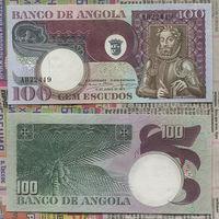 Распродажа коллекции. Ангола. 100 эскудо 1973 года (P-106 - 1973 Issue)