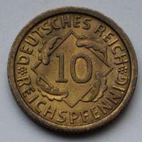 Веймарская республика, 10 рейхспфеннигов 1930 А