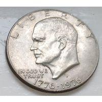 "США 1 доллар, 1976 200 лет независимости США ""D"" - Денвер 1-6-13"