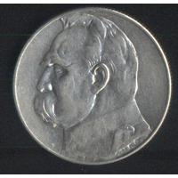 Польша 5 злотых 1934,1935,1936 г. Пилсудский (*). Хорошие!!! Цена за 1 шт.